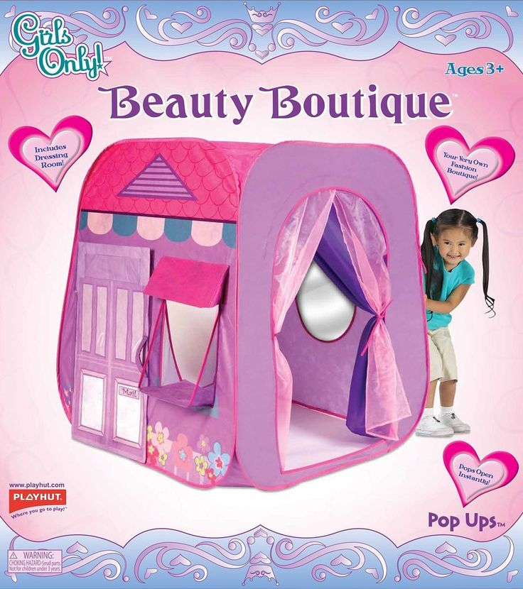 Play Tent For Kids Girls Play Lightweight Portable Christmas Birthday Gift NEW  #PlayTentForKids