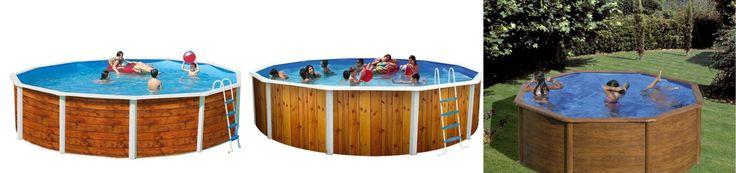 Buenos días amigos si queréis una piscina de madera pero os resulta complicado el mantenimiento de la madera natural, os presentamos piscinas imitación madera. Elegantes y económicas al alcance de todos. Pincha aquí y elije la que más te guste.