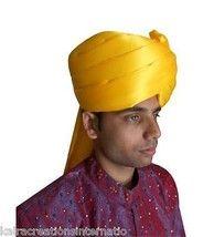 63dde5f9fb1 Indian Pagri Halloween Special Handmade Men Hat Turban Safa Satin Pag -   79.19