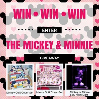 Win a Mickey & Minnie Prize Pack