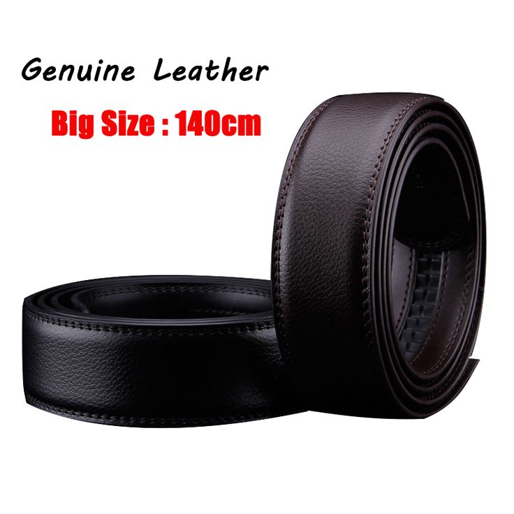 2017 Strap male genuine leather belt men without buckle belt coffee cowskin leather luxury fashion Leather Automatic Strap 140cm #jewelry, #women, #men, #hats, #watches