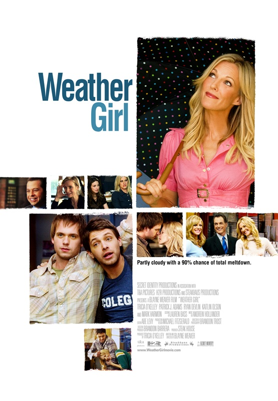 2009 - When she discovers that her vapid anchorman boyfriend (Mark Harmon) is sleeping with their TV news program co-anchor (Kaitlin Olson), Seattle weather forecaster Sylvia (Tricia O'Kelley) wildly denounces him live on the air, and soon finds herself without a job. Forced to move in with her younger brother, Sylvia now must come to terms with her life that she thinks is going nowhere. Blayne Weaver directs this charming comedy.