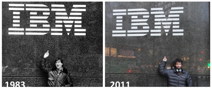Steve Jobs 1983. Today