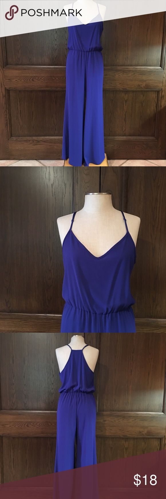 Royal Blue Jumpsuit by Sage Beautiful royal blue comfy jumpsuit. Sage Pants Jumpsuits & Rompers