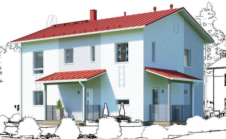 Katso Ainoakoti Ainoa Hetki 164 ja yli tuhat muuta talomallia Meillä kotonan Talohausta.