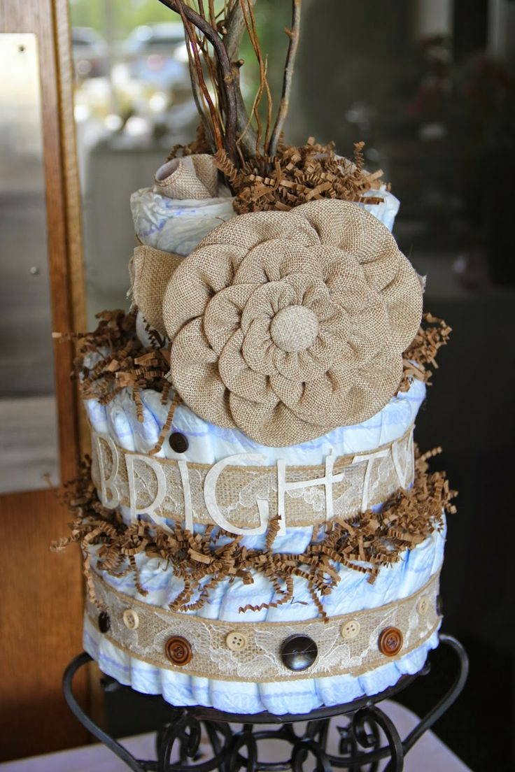 diaper cakes diapers cakes rustic woods rustic baby showers