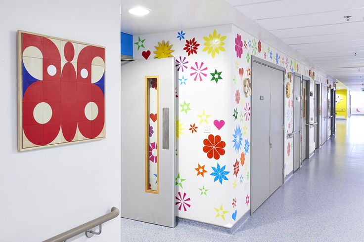 London Childrens Hospital Mural in Respiratory Ward