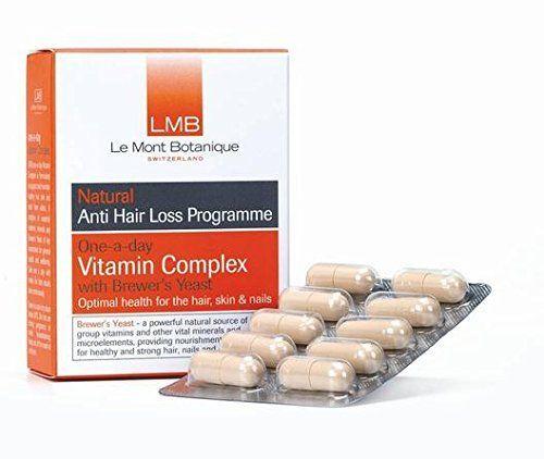 LMB – Anti Perte de cheveux One-A-Day Vitamine Complexe avec Levure de Bière 30 Capsules sans Plus couleurs. Sans Parfums artificiels. Sans…