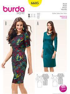 V neck long dress pattern generator