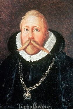 Tycho Brahe: (14 December 1546– 24 October 1601), born Tyge Ottesen Brahe was a Danish nobleman known for his accurate and comprehensive astronomical and planetary observations. He was born in Scania, then part of Denmark, now part of modern-day Sweden. Tycho was well known in his lifetime as an astronomer and alchemist.