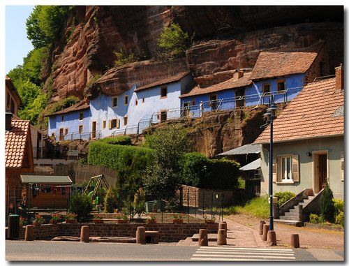 Maisons des Rochers - Graufthal - #Alsace