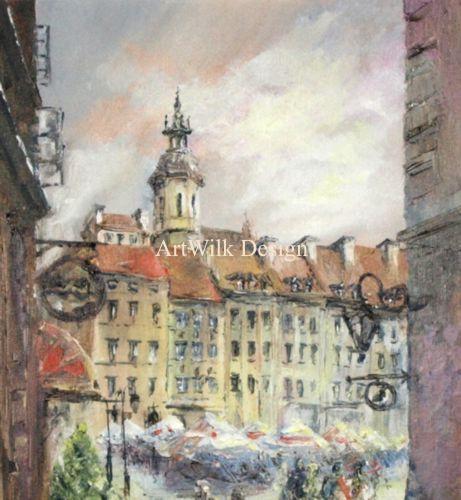 Warsaw. Jerzy Wilk. ArtWilk