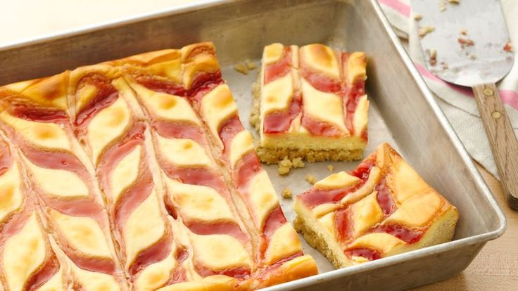 You will love these scrumptious strawberries cheesecake cookie bars  cheesecake bars made with only 5 ingredients!