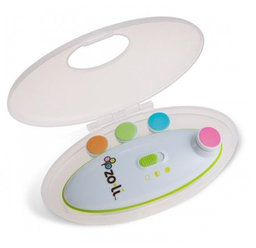 An easier and safer way to trim your baby's nails. The unique motion and cushioned pads gently