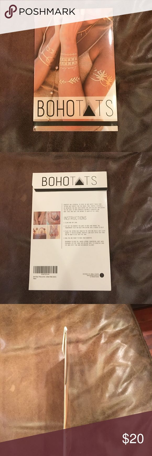 Brand new Boho Tats flash gold and silver tattoos Brand new! Other