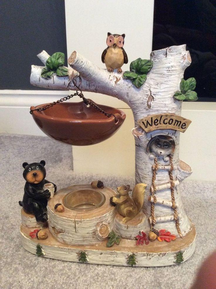 Yankee Candle Novelty Hanging Tart Burner Treehouse