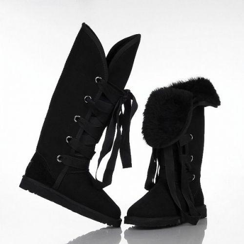 Ugg Roxy Tall Boots 5818 Black