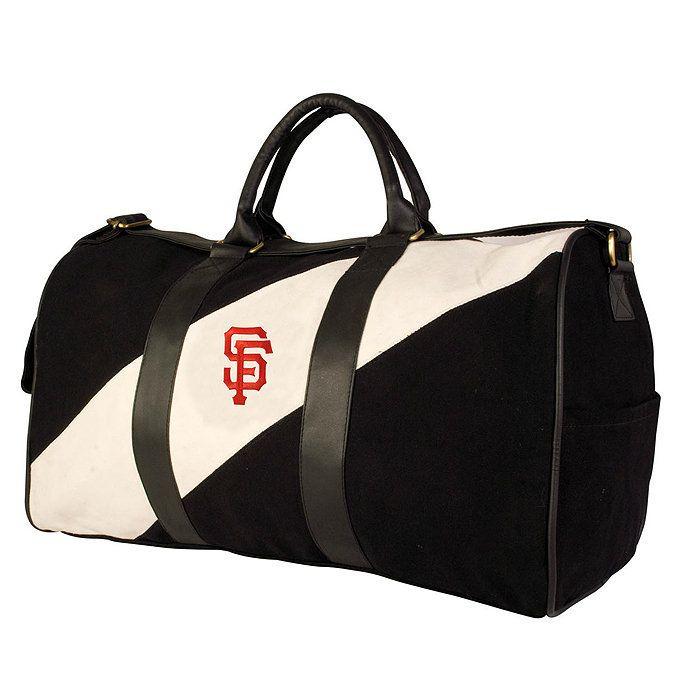 New MLB York Yankees Pangea Vintage Canvas Duffle Bag W Shoulder Strap