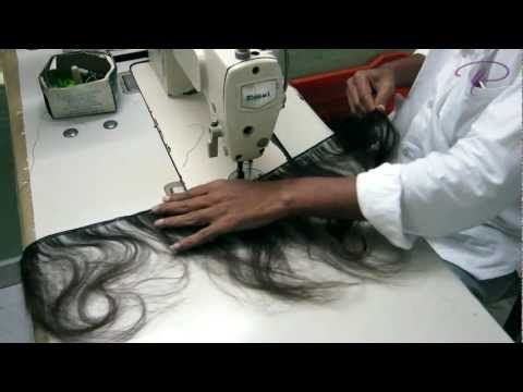 How Machine Weft Indian Hair Weaves Are Made – #Ha…
