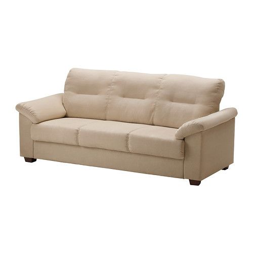 Knislinge Sofa Ikea High Back Provides Great Support For Your Neck Durable Easy Care Microfiber Cover With A Soft Suede Feel