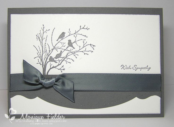 Stamping With Monique: Sketch Frenzy Sympathy, Serene Silhouettes