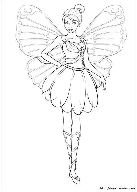 barbie ballerina printable coloring pages - Barbie Printable Coloring Pages