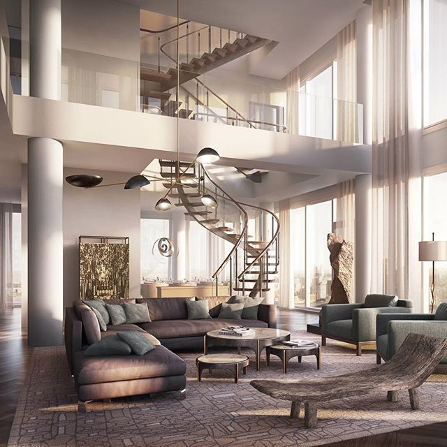 Beautiful penthouse!😃 📐One Madison Penthouse by Yabu Pushelberg Located in New York📍🇺🇸 © The Pinnacle List #restlessarch ______ Welcome to @restless.arch! (+211k) Follow for great architecture! Tag your friends!☺️ ______