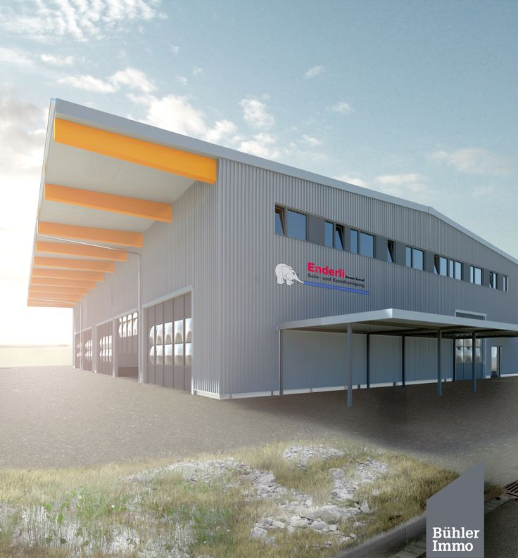 Visualisation of an Industrial Building.