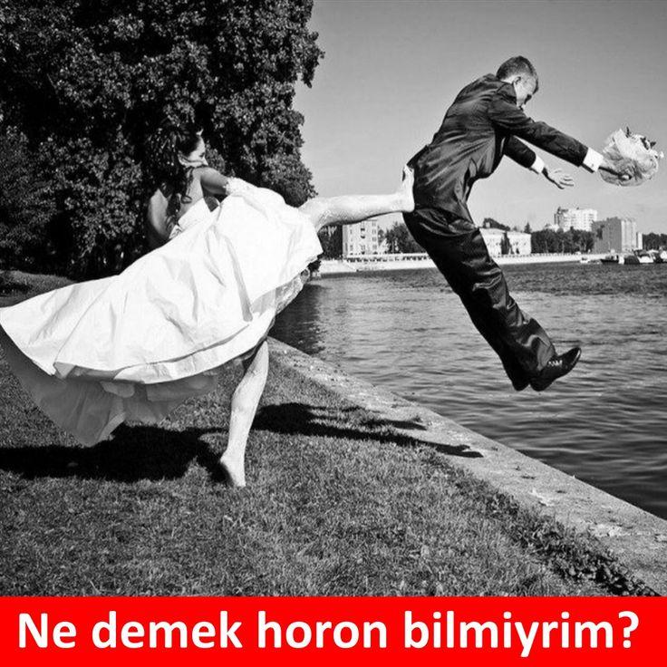 Ne demek horon bilmiyrim? :)  #mizah #matrak #komik #espri #şaka #gırgır #komiksözler #horon #karadeniz #caps