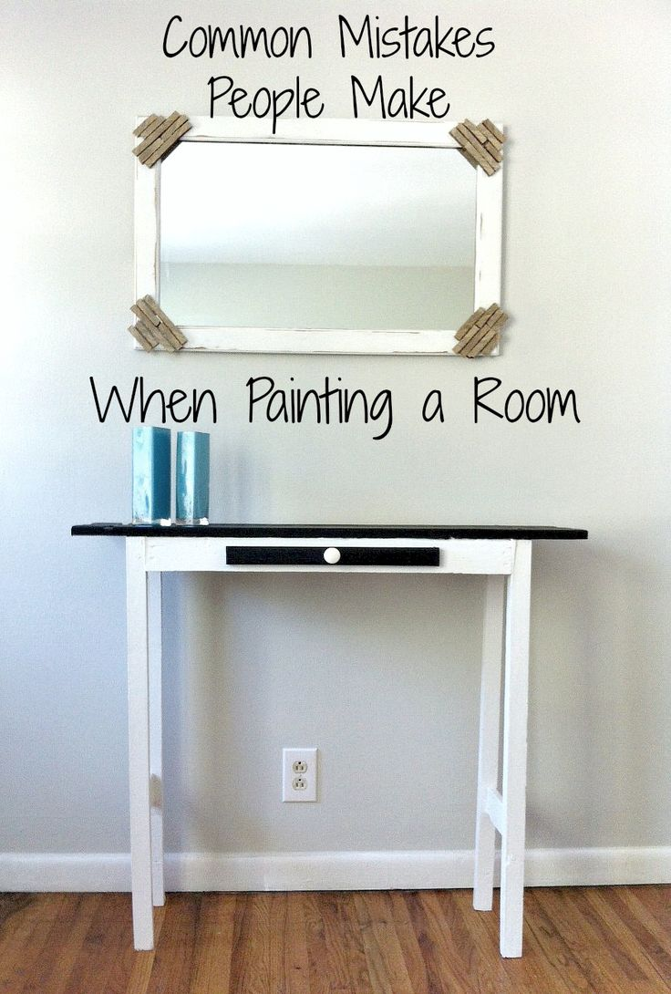 Common Mistakes People Make When Painting a Room | Mom in Music City via @sabine1490