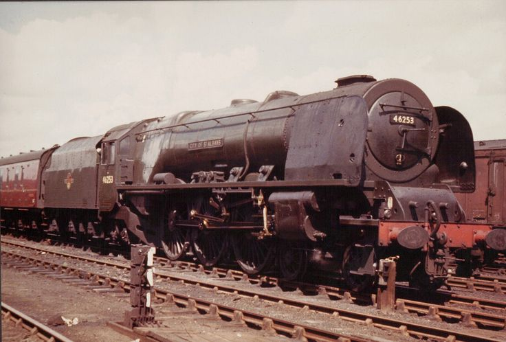 46253 'City of St Albans' Coronation Class 4-6-2 . Photo by Steven Toogood