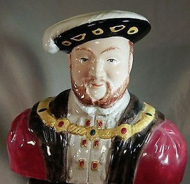 Wood & Son King Henry VIII Toby Character Jug by UrbanVintageChic