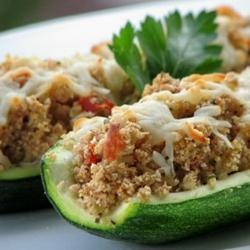 Zucchini, Stuffed zucchini and Italian on Pinterest