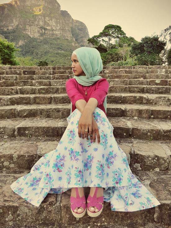Floral Hijab | Hashtag Hijab
