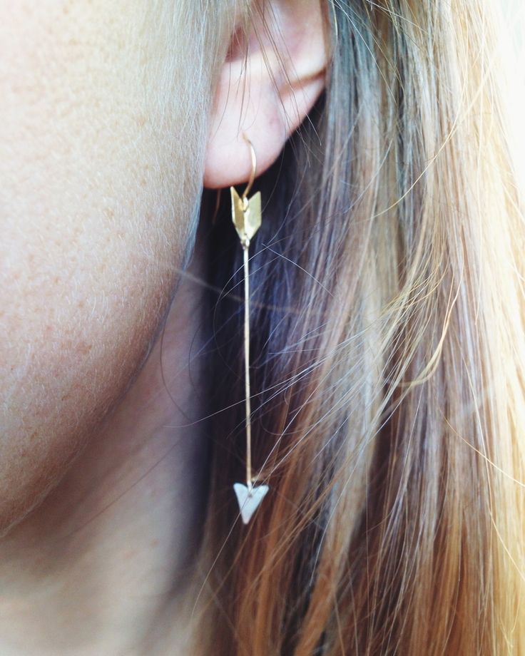 Arrow Earrings / Rackk and Ruin