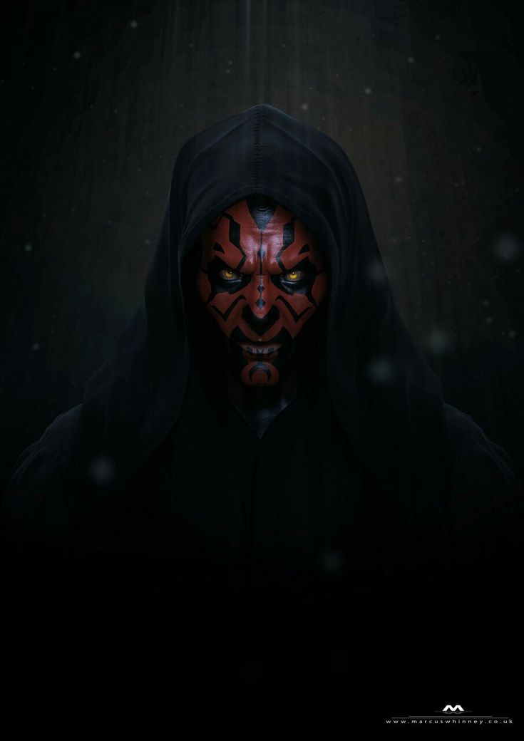 Darth Maul by Marcus Whinney