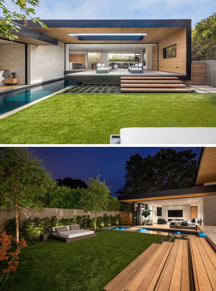 This Modern California House Creates An Indoor Outdoor Lifestyle With Retractable Glass Walls California Homes Outdoor Lifestyle House Design