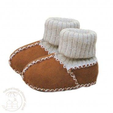 Heitmann Lambskin Sock Booties - Camel  http://www.naturalbabyshower.co.uk/heitmann-felle-lambskin-sock-booties-camel.html