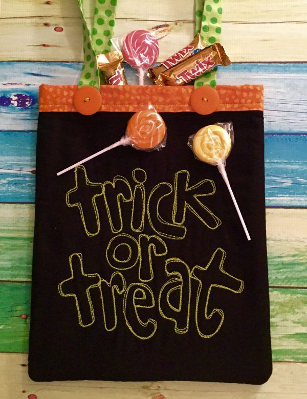 quilted halloween bags
