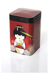 One of the tea caddies in the selection.  Little Geisha.