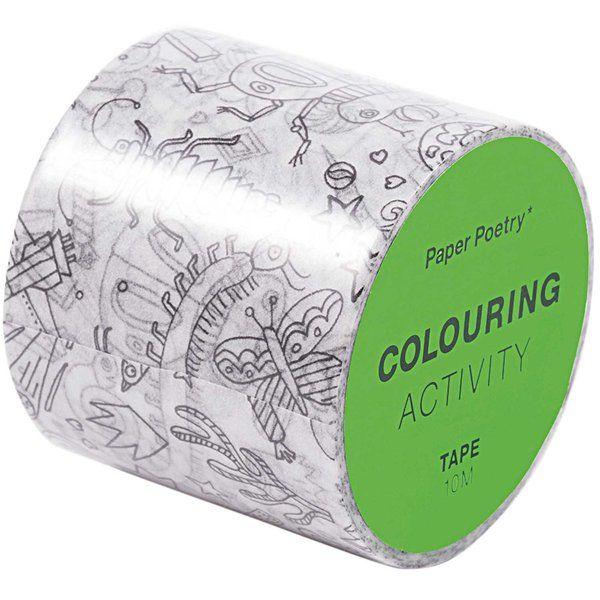 Paper Poetry Tape Insekten Xl 4cmx10m Partyhute Rico Design Wenn Du Mal Buch