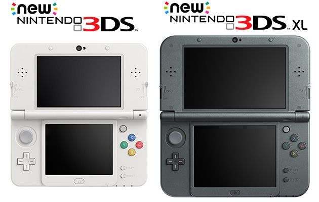 Nintendo is making two new versions of its 3DS portable console, arriving in Japan this October
