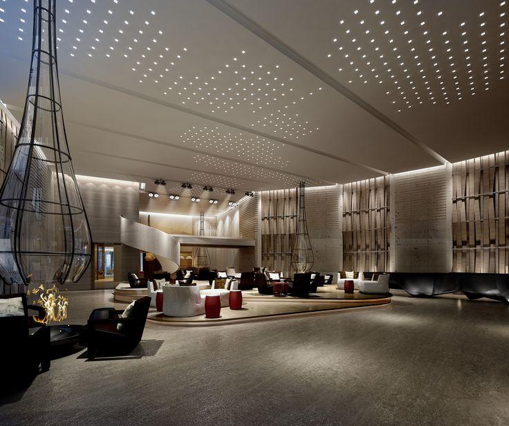 lobby lighting design for - photo #8