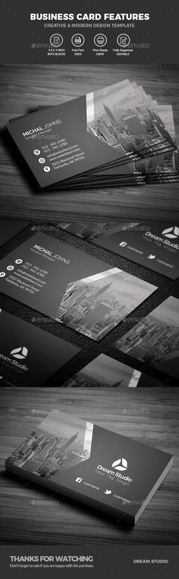 Best 25 modern business cards ideas on pinterest free business business cards magicingreecefo Choice Image
