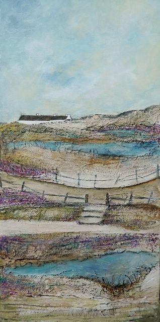 ''Along the moorland path'' by Louise O'Hara