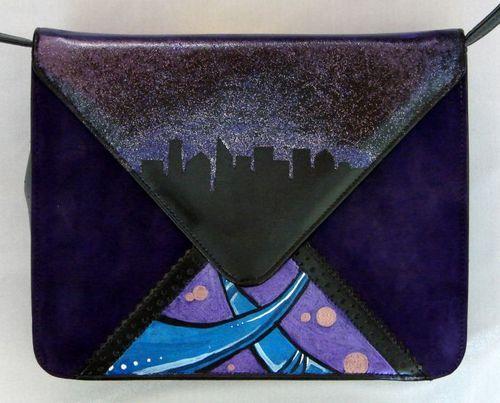 Leather Zip Around Wallet - Seafoam & Grey by VIDA VIDA QA7NqvPqO