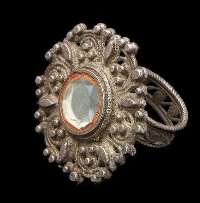 Antique Tribal Indian Silver Rings - Rabari