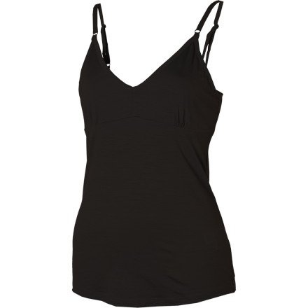 Icebreaker Women's Siren Shelf Cami, X-Small, Black.    List Price: $54.95  Buy New:$41.21   You Save:25%  Deal by: AthleticClothingShop.com
