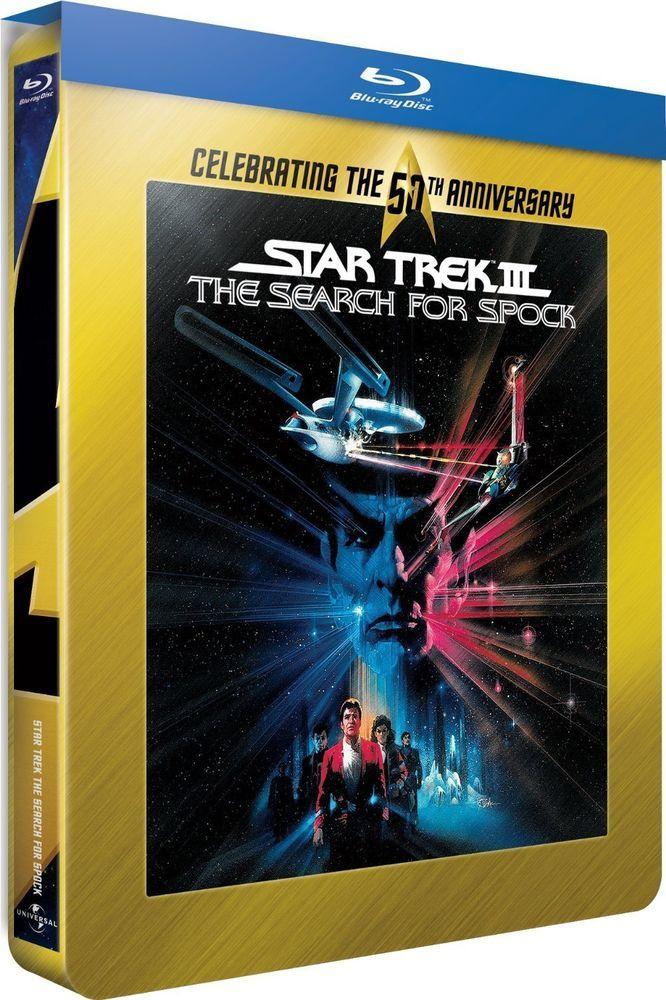 Star Trek III : À la recherche de Spock - Blu-ray STEELBOOK Director s Cut -