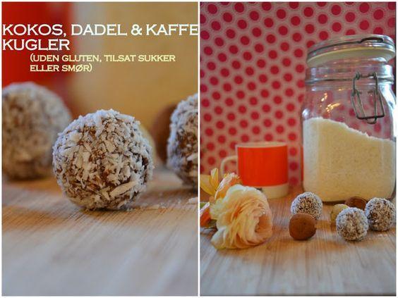 Brændstof: Sund opskrift: Havregrynskugler for voksne! Ny version med kokos, dadel og stærk espressokaffe